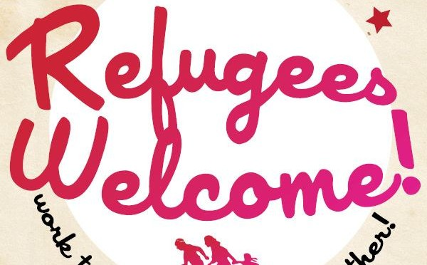 Refugees welcome – party together, work together, fight together!