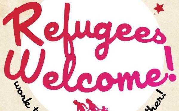 Refugees welcome – party together, work together, fight together!